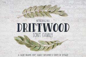 Driftwood Font Family