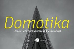Domotika - 16 fonts
