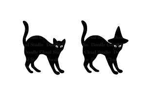 Cats SVG files for Silhouette Cameo