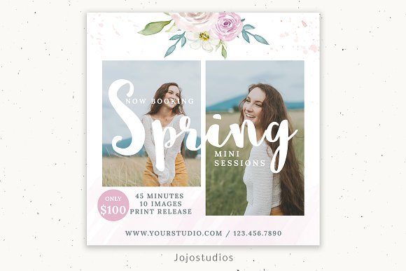 Spring Photography Marketing Board