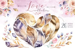 Feather love collection