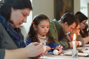 Ukrainian Easter Eggs Painting