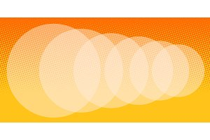 abstract orange blur background