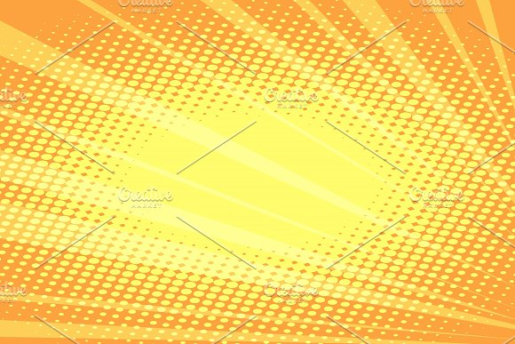 Orange Rays Abstract Background