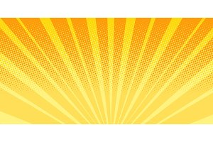 orange rays sunrise abstract background