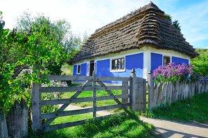Ukrainian house XVIII century