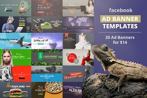 Facebook Ad Template Pack 02