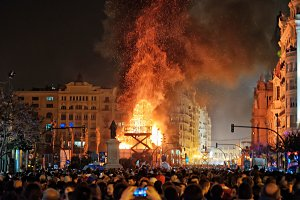 Burning the Falla