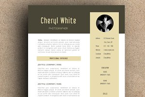 The Cheryl Resume Pack