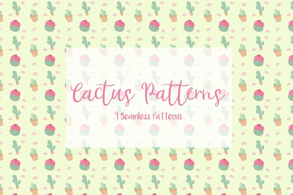 Cactus Pattern Pack