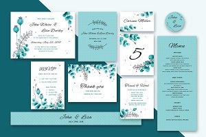 Wedding Invitation Suite Foliage