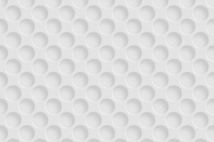 Seamless pattern with round holes