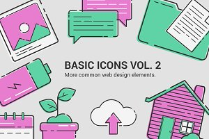 Basic Icons Vol.2