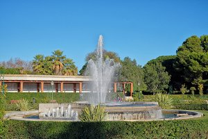 Royal Gardens, Valencia, Spain
