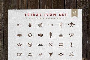 Tribal Icon Set - Native American