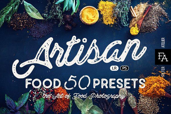 Actions: FilterAtelier - 50 Food Presets Bundle