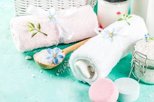Spa relax and bath concept