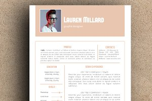 The Lauren Resume Pack