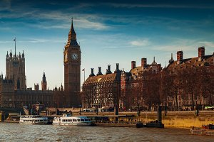 Big Ben and Westminster, London