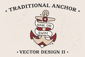 Traditional Anchor Vector Design II