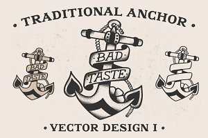 Traditional Anchor Vector Design I