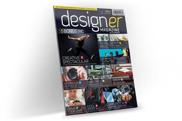 Magazine Template InDesign 03