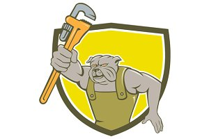 Bulldog Plumber Monkey Wrench Shield