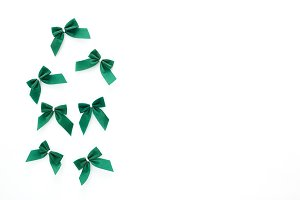 St Patricks Day green bows