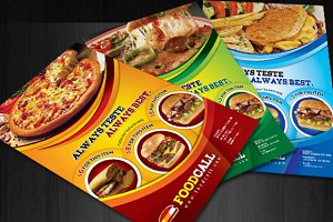Best & Good Fast Food Flyers/Adds