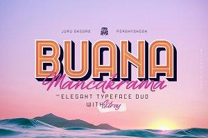 Buana & Mancakrama Typeface Duo