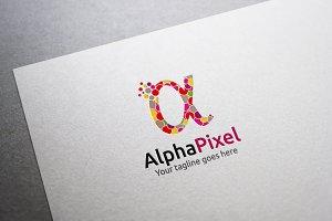 Alpha Pixel Logo