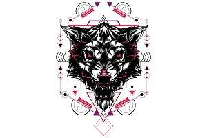 Wolf Sacred Geometry