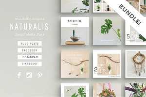 NATURALIS  Social Media BUNDLE