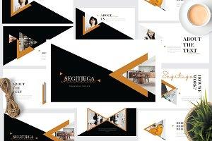 SEGI - Minimal Creative Powerpoint