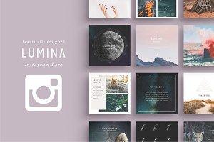 LUMINA Instagram Pack