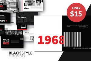Black Modern Layout Powerpoint