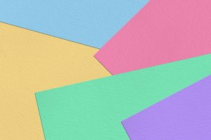 Pastel colorful paper background
