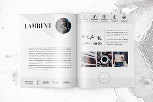 5 Page Media Kit Template