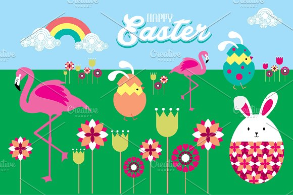easter vector in Illustrations