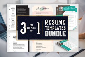 Resume Templates Bundle - Khalama Ki