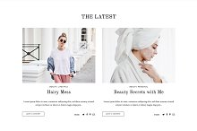 Fashion & Lifestyle Blog Theme - XO by Julie in Minimal