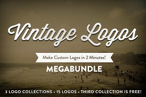 Vintage Logo Collection MegaBundle