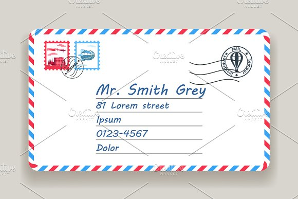 mailing postal address mail letter