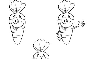 Carrot Mascot Collection - 1