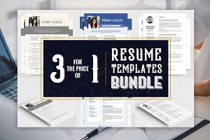 Resume Templates Bundle - Sirius Soc