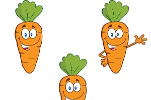 Carrot Mascot Collection - 3