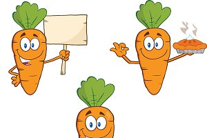 Carrot Mascot Collection - 4