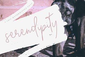 Serendipity Font - Chic Script