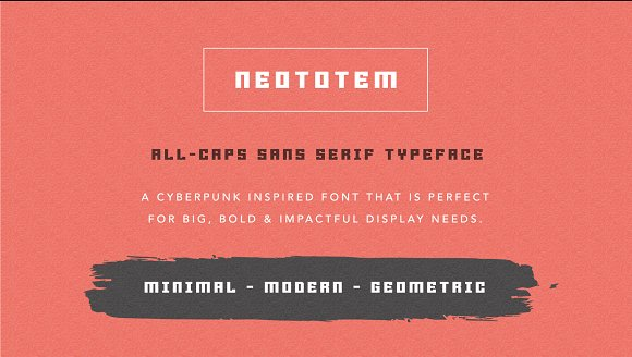 Neototem Font