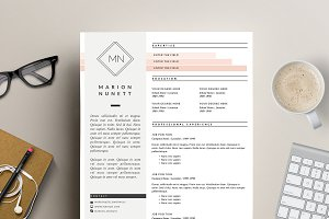 2 Page Resume Template for MS Word